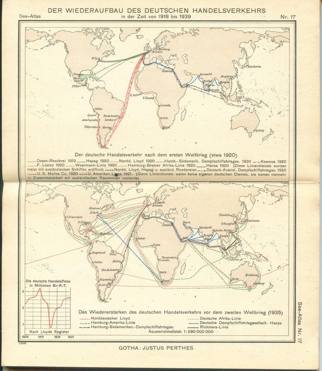 Der Wiederaufbau des Deutschen Handelsverkehrs in der Zeit von 1918 bis 1939